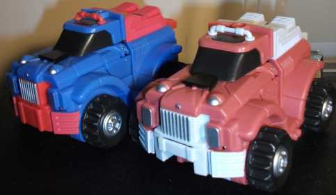TF-Veer truck compare