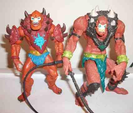 MOTUC-Beast man compare